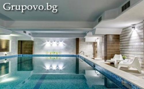 СПА с МИНЕРАЛЕН басейн, нощувка, закуска и A ла карт вечеря в новия хотел Монте Кристо, Благоевград