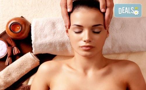 Пълен Релакс! Дълбоко Релаксиращ Болкоуспокояващ Масаж на Цяло Тяло с Топли Билкови Масла и Подарък: Масаж на Скалп в Луксозния Senses Massage & Recreation