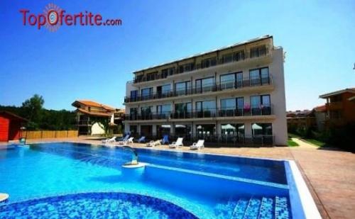На море, първа линия, к-г Златна рибка хотел Созополи Стайл 4*! Нощувка в апартамент за 4 души + закуски и вечери само за 99 лв
