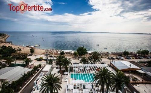 Гърция, Халкидики, Ситония хотел Cronwell Resort Sermilia 5* през Юни! 5 нощувки за Двама и дете до 12 г + закуски, вечери, басейн, чадъри и шезлонги на плажа