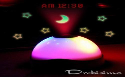 Проекционен Часовник звездно Небе