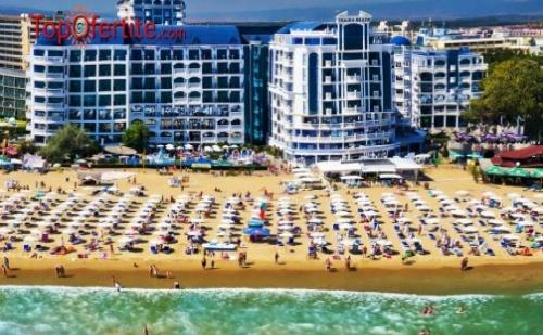 Слънчев Бряг, първа линия хотел Чайка Ризорт 4*! Нощувка на база All inclusive + ДЕТЕ до 12г