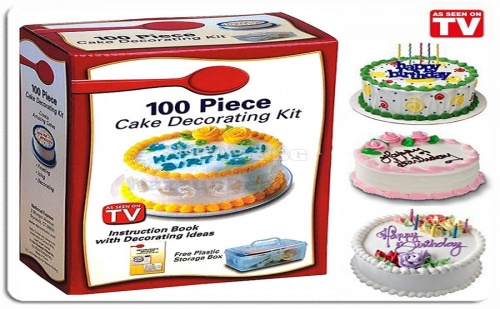 Комплект за декорация на сладкиши 100 части Cake Decorating kit