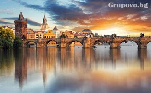 Уикенд в Прага от 04 - 06 Ноември! Двупосочен билет, летищни такси, трансфери + 2 нощувки със закуски в хотел Voyage**** и пешеходна обиколка от Аеротур ММ
