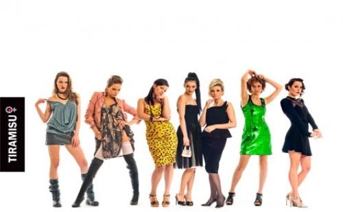 На 8-ми Ноември, вижте хитовия спектакъл Тирамису с участието на 7 прекрасни актриси, в Театър София