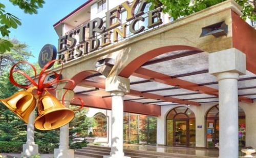 НОВА ГОДИНА в Хотел Estreya Residence 4*, СВ. СВ. КОНСТАНТИН И ЕЛЕНА: 3 нощувки в двойна стая на база All Inclusive