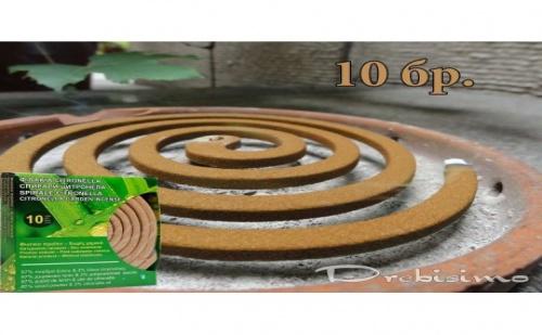 10 Броя Спирали Против Комари