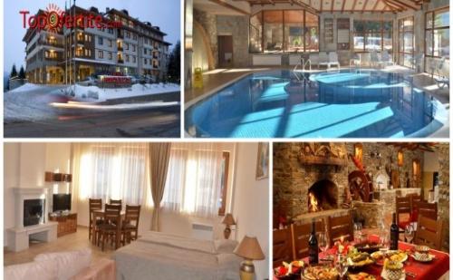 Хотел Перелик Палас 4*, Пампорово! 2 нощувки + закуски, вътрешен отопляем басейн, сауна, фитнес и дете до 12г Безплатно