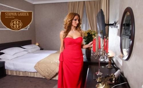 Романтика в Кюстендил, STRIMON GARDEN SPA HOTEL 5*, УИКЕНД: 2 нощувки в ДВОЙНА СТАЯ ДЕЛУКС със закуски и вечери за двама