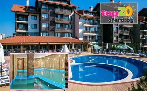 Зима в Банско! Нощувка със закуска и вечеря + Басейн и НОВ СПА Център, в Хотел Балканско Бижу