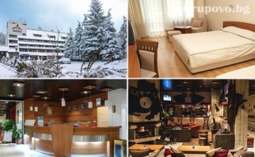 Зимна приказка в Боровец! Нощувка, закуска, сух обяд и вечеря + бонуси в хотел Мура***