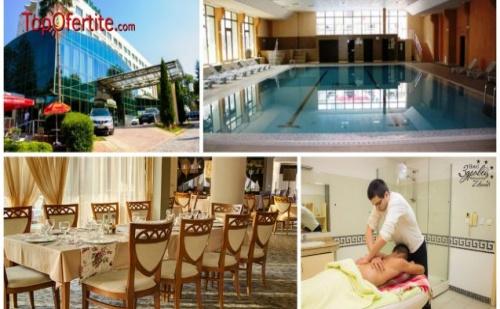 Хотел Здравец Уелнес и СПА 4*, Велинград Междусрочна ваканция! 1 нощувка + закуска, вечеря, чаша вино и СПА пакет