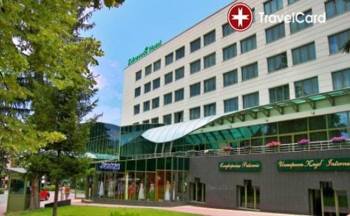 Нощувка за двама възрастни плюс две деца до 12 г. с включени закуски,обяди,вечери и ползване на СПА зона в хотел Здравец **** , гр. Велинград
