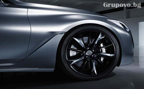 Смяна на 4 броя гуми R13 и R14 + монтаж, демонтаж, баланс и тежести само за 10 лв. в автокомплекс Нон Стоп, кв. Павлово