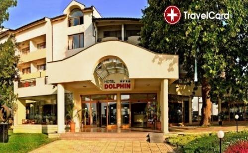 Пакет нощувки за двама възрастни плюс две деца до 12 г. на база ALL Inclusive PREMIUM  с включени безплатни чадъри и шезлонги на морския плаж в хотел Долфин****, комплекс Гранд Хотел  ...