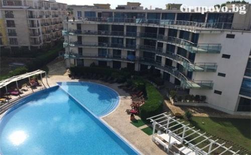 All Inclusive + басейн през Май и Юни в хотел Синя Ривиера, Слънчев Бряг. Дете до 12г. - БЕЗПЛАТНО!
