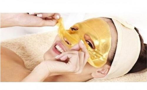Маска за лице с био злато