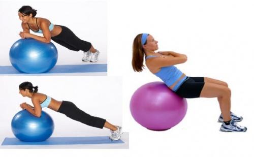 Фитнес топка