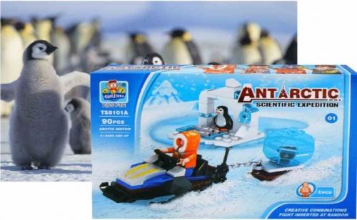 Конструктор 90 части Antarctic