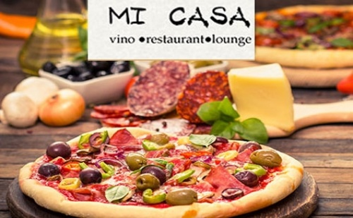 2 ГОЛЕМИ автентични ИТАЛИАНСКИ ПИЦИ по избор от Ресторант Mi Casa в центъра