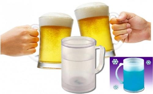 Охлаждаща термо чаша за бира !