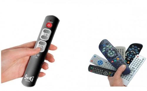 Универсално ТВ дистанционно със Slim дизайн