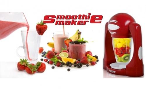 Започнете деня с витамини и го завършете с коктейл! Със Smoothie Maker, можете бързо и лесно да приготвят здравословни и вкусни шейкове!