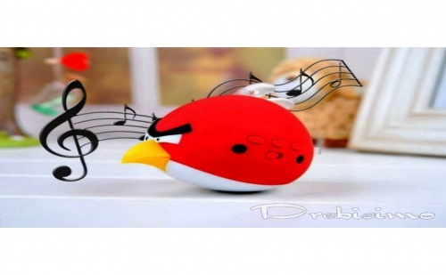 Мини Тонколона, Радио и Mp3 - Angry Birds