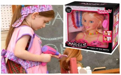 Кукла манекен за прически