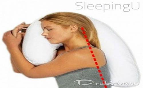 Възглавница против хъркане Sleeping U