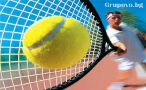1 Час Тенис на Корт за Двама в Спортен Комплекс Амик Спорт в Района на Бан