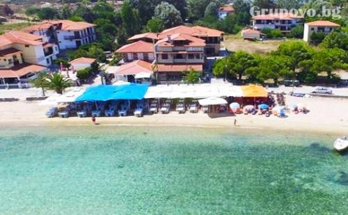 Цяло Лято на Брега на Морето в Хотел Ормос Панагиас, Гърция! Пакет с Нощувка, Закуска и Вечеря