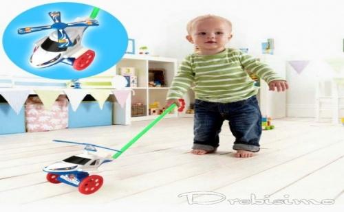 Играчка за Тикане - Въртолет