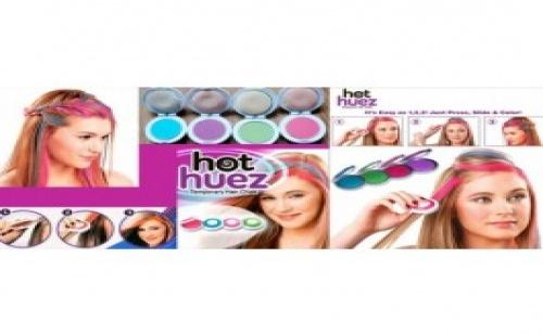 Бъдете нестандартни със система за боядисване на коса Hot Huez