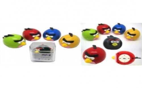 Музика и забавление! MP3 плейър Angry Birds за 8.99лв.