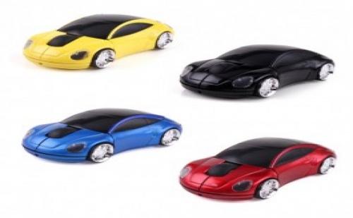 Мишка за компютър или лаптоп с формата на кола.