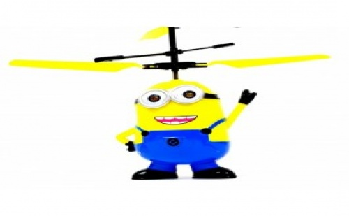 Летящ Миньон с вградена батерия, мощни перки и елементарно управление за всяко детенце