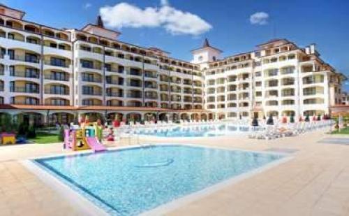Лято 2017 в Обзор с чадър на плажа, 5 дни All inclusive в Топ хотел до 10.07, Сънрайз Ол Суит Резорт