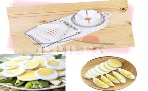 Тънки Резенчета Яйца за Една Чудесна Декорация!