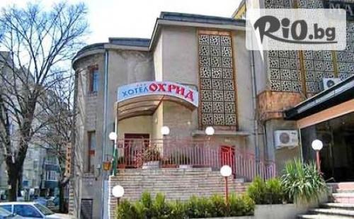 Нощувка със закуска или със закуска и вечеря в центъра на град Варна, от Хотел Охрид 3*