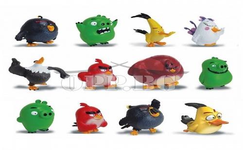 6 броя фигурки Angry Birds 2016