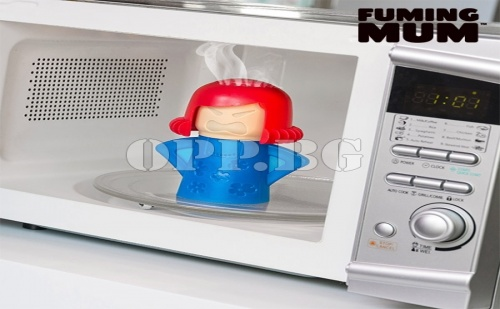 Уред за Почистване на Микровълнова Фурна Fuming Mum