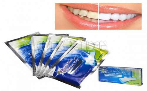 28 Броя Супер Ефикасни Лентички за Избелване на Зъби