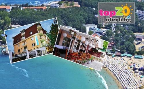 Лято в Китен на Горещи Цени! Нощувка със Закуска и Вечеря или Закуска, Обяд и Вечеря + Басейн на 200 М. от Плажа в Хотел Грийн Палас, Китен, от 15 лв. на човек!