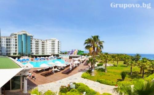 Петзвезден All Inclusive на брега на морето в Дидим, Турция. 7 нощувки и частен плаж от хотел Didim Beach Elegance. Дете до 12.99г. - БЕЗПЛАТНО
