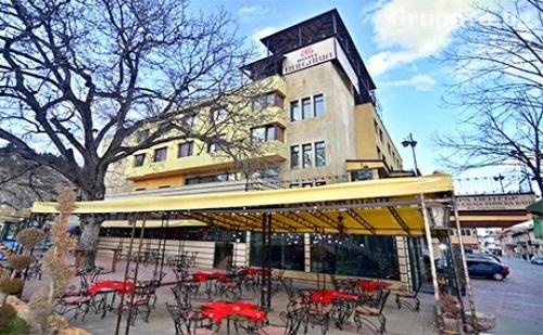 Нощувка, Закуска и Вечеря + Басейн и Спа с Минерална Вода в Хотел България, Велинград