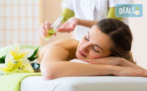 Релаксирайте с един или пет масажа на гръб с етерично масло по избор от ShuShe Lifestyle Center
