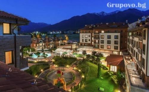 Нощувка, закуска и вечеря с напитки + басейн и СПА в Мурите Клуб Хотел****, до Банско