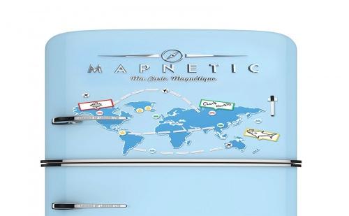 Карта на Света – Магнит за Хладилник