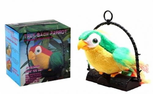Забавен повтарящ папагал